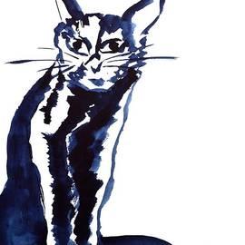 Beverley Harper Tinsley - A Sketchy Cat