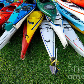 Amy Cicconi - A Stack of Kayaks