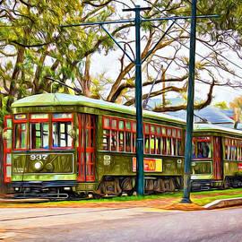 Steve Harrington - A Streetcar Named St. Charles - Paint