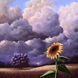 Ric Nagualero - A Sunflower Among The Storm