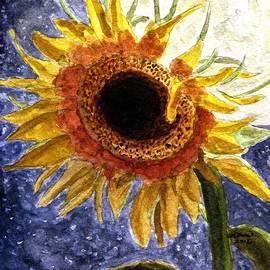 Angela Davies - A Sunflower In The Moonlight