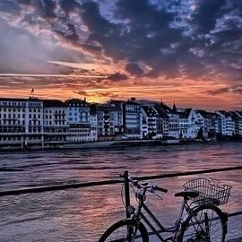 Carol Japp - A Sunset Cycle by The Rhine Basel