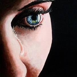 Anne Gardner - A tear