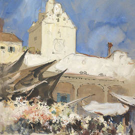 Celestial Images - A Vegetable Market in Venice