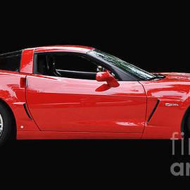 Allen Beatty - A Very Red Corvette Z6
