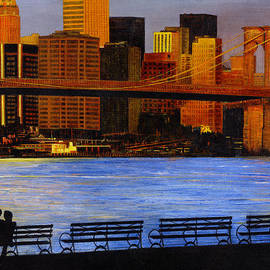 Stuart B Yaeger - A view from Brookklyn