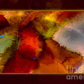 Omaste Witkowski - A Warrior Spirit Abstract Healing Art