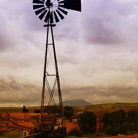 Jeff  Swan - A Windmill And Wagon