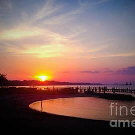 Linda Mesibov - A Yorktown Sunset