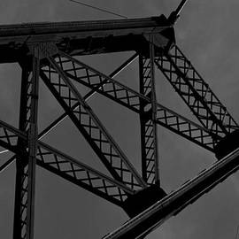 Abandoned Bridge BnW