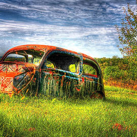 Roger Passman - Abandoned Car in Field