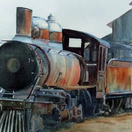 Katherine  Berlin - Abandoned Train II