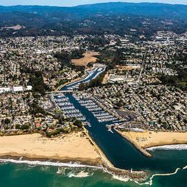 Randy Straka - Above Santa Cruz Harbor