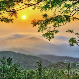 Dan Carmichael - Above the Clouds - Blue Ridge Parkway