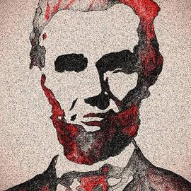 Georgeta Blanaru - Abraham Lincoln Original Digital painting