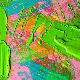 John  Nolan - Abstract 6814 Diptych Cropped XVI