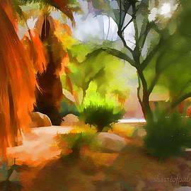 Sherri  Of Palm-Springs - Expreesionisn Art Beauty Of The Desert