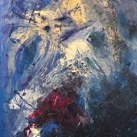 Sonja  Zeltner - Abstract Blue-purple