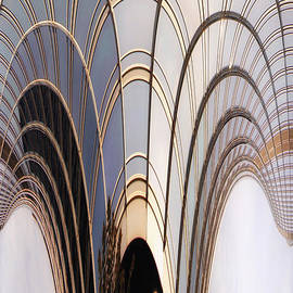 Thomas Woolworth - Abstract Chicago Sunrays On Trump Tower