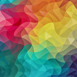 Philipp Rietz - Abstract Color Wave Flash