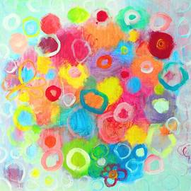 Ana Maria Edulescu - Abstract Colorful Dreams