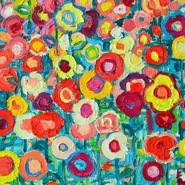 Ana Maria Edulescu - Abstract Colorful Wildflowers