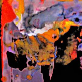 Richard Tuvey - Abstract Expressionist Landscape 1