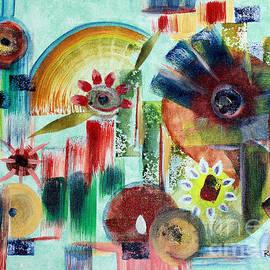 Rajitha Nambiar - Abstract Flowers