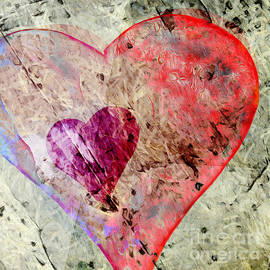 Edward Fielding - Abstract Hearts 17