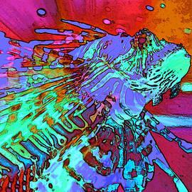 Elizabeth Abbott - Abstract Lion Fish