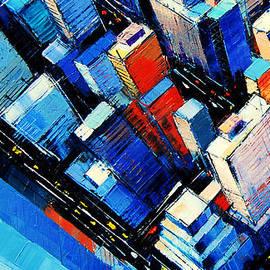 Mona Edulesco - Abstract New York Sky View