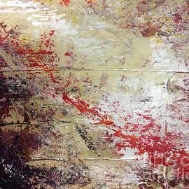 John Avery - Abstract No. 121 - Marrone Rosso Viola