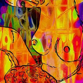 M and L Creations - Abstract Nude Woman 1