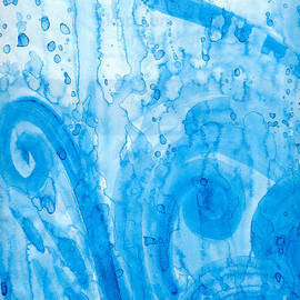 Kerstin Ivarsson - Abstract painting of water