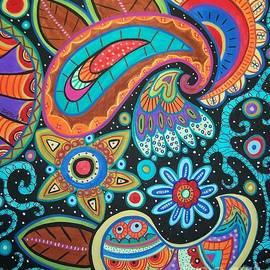 Karla Gerard - Abstract Paisley