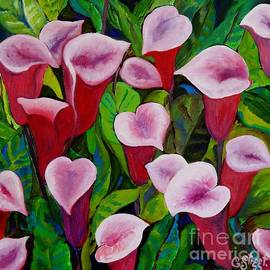 Caroline Street - Abstract Pink Calla Lily