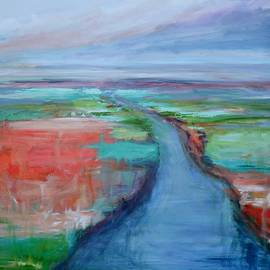 Donna Tuten - Abstract River