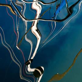 Jani Freimann - Abstract Sailboat Mast Reflection