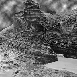 Dave Byrne - Cliff Face Balck and White Photography