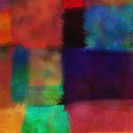 Ann Powell - Abstract Study Five - abstract - art