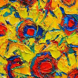 ANA MARIA EDULESCU - ABSTRACT SUNFLOWERS