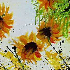 Ismeta Gruenwald - Abstract Sunflowers