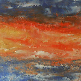 Jane See - Abstract Sunset