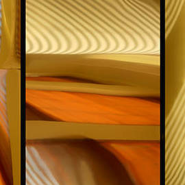 Nikolyn McDonald - Abstract Triptych - Omaha Library Building