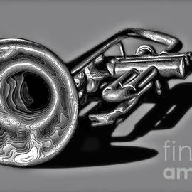 Walt Foegelle - Abstract Trumpet 2 Digital Art