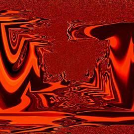 Klaas Hartz - Abstraktes in Rot