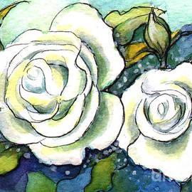 Kirohan Art - Ac308 White Rose