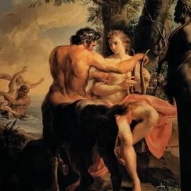 Pompeo Batoni - Achilles and the Centaur Chiron
