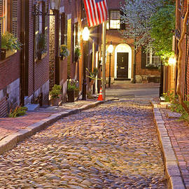 Juergen Roth - Acorn Street of Beacon Hill