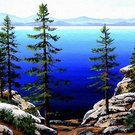 Frank Wilson - Across Lake Tahoe